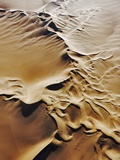 Aerial View of Sand Dunes Photographic Print by Martin Harvey