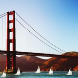 Golden Gate Bridge Photographic Print by JoSon 