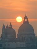Venice: Santa Maria della Salute Photographic Print by Guenter Rossenbach