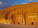 Tombs of Madain Saleh Photographic Print by Kazuyoshi Nomachi