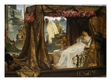 The Meeting of Anthony and Cleopatra, 41 B.C. Giclee Print by Sir Lawrence Alma-Tadema
