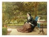 Five O'Clock Giclee Print by George Dunlop Leslie