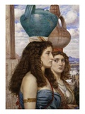 Servant Girls Giclee Print by Edward Poynter