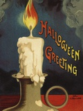 Hallowe&#39;en Greeting Photographic Print by Ellen H. Clapsaddle