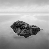 Boulder in Water by Beach Photographic Print by David Burdeny