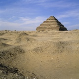 Step Pyramid, Sakkara, Egypt Photographic Print by Paul C. Pet