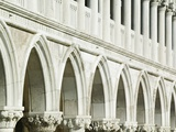 Detail of the Doge's Palace Photographic Print by William Manning