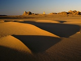 Tassili Ahaggar at Sunset Photographic Print by Kazuyoshi Nomachi