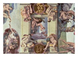 The Creation of Eve Giclee Print by  Michelangelo Buonarroti