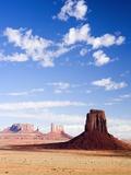 Buttes in Monument Valley Fotografie-Druck von José Fuste Raga