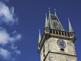Old Town Hall Clock Tower in Prague Photographic Print by William Manning