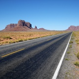 Desert Road Photographic Print by Ron Chapple