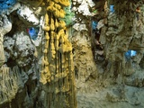 Inside Grotto of Thien Cung Cave Photographic Print by Steven Vidler