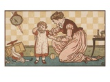 For Every Evil Under the Sun Premium Giclee Print by Walter Crane
