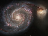The Whirlpool Galaxy (M51) Photographic Print
