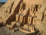 Ramses temple in Abu Simbel Photographic Print by Fridmar Damm