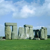 Stonehenge in Wiltshire (England) Photographic Print by Ladislav Janicek
