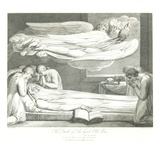 The Death of the Good Old Man Giclee Print by William and Louis Blake and Schiavonetti