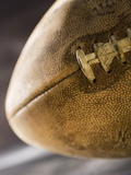 Still life of a football Photographic Print