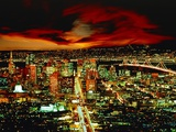 San Francisco Under Dramatic Sky Photographic Print by Karl Kinne