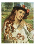 Amaryllis, or the Shepherdess Giclee Print by William Holman Hunt