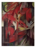 The Fox Giclee Print by Franz Marc