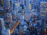 Midtown Manhattan at Dusk Fotografie-Druck von José Fuste Raga