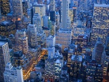 Midtown Manhattan at Dusk Photographic Print by José Fuste Raga