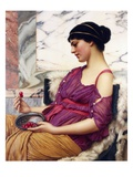 Ismenia Giclée-Druck von John William Godward
