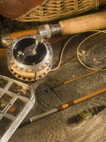 Fly Fishing Equipment Photographic Print by Tom Grill