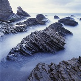 Rock Formation on Coast Photographic Print by Micha Pawlitzki