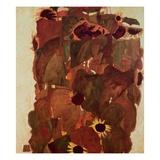 Sunflowers II Giclee Print by Egon Schiele