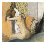After the Bath (1898) Lámina giclée por Edgar Degas