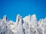Cliff wall and peaks in the Salzburg Alps Photographic Print by Dietrich Rose
