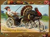 Thanksgiving Greetings Reprodukcja zdjęcia autor Frances Brundage