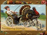 Thanksgiving Greetings Photographic Print by Frances Brundage