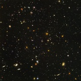 Clusters of Galaxies Photographic Print