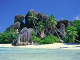 La Digue, Seychelles Fotografisk tryk af José Fuste Raga