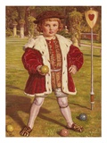 The King of Hearts Giclee Print by William Holman Hunt