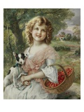 The Cherry Pickers Giclée-Druck von Emile Vernon