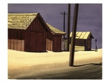 Garages in Culver City Giclee Print by Robert McIntosh