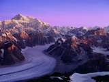 Mount McKinley and Ruth Glacier Photographic Print by Danny Lehman
