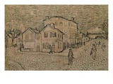 Vincent's House at Arles Giclee Print by Vincent van Gogh