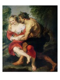 Scene of Love or, The Gallant Conversation Giclee Print by Peter Paul Rubens