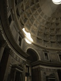 Inside the Pantheon, Rome, Italy Photographic Print