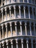 Leaning tower of Pisa (Italy) Photographic Print by Guenter Rossenbach