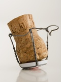 Champagne Cork Photographic Print by Tom Grill