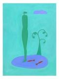 Nofish Giclee Print by Marie Bertrand