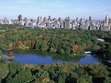 The Lake in Central Park Photographic Print by Rudy Sulgan