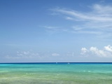 Blue Sea and Sky, Cancun, Mexico Photographic Print by Angelo Cavalli